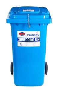 Shredding Bin